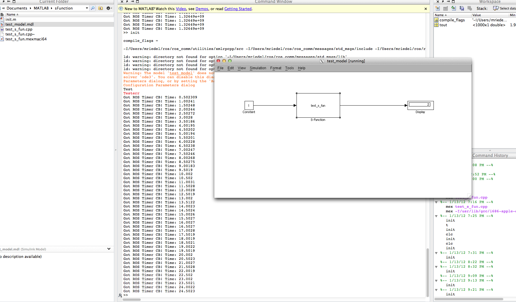 ROS/Matlab Simulink communication - ROS Answers: Open Source
