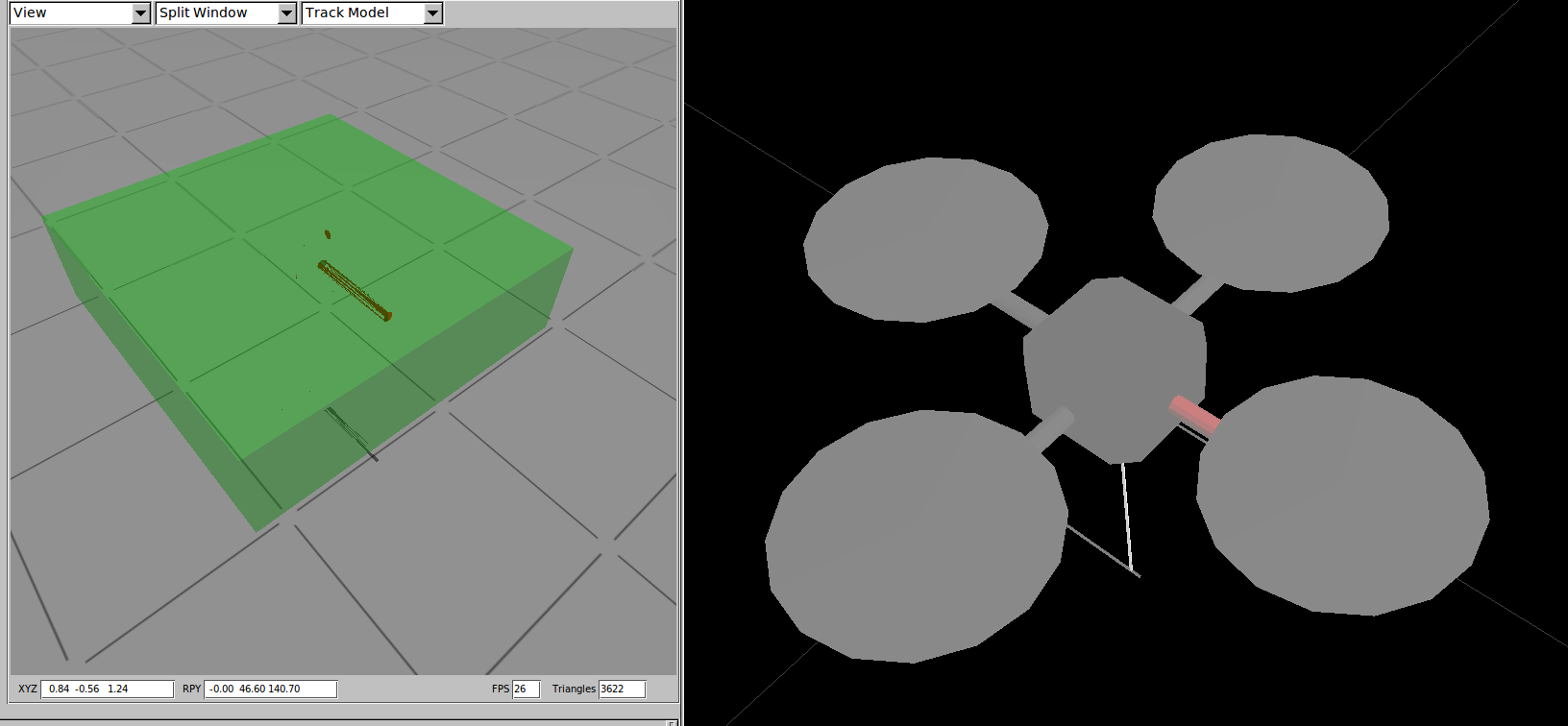 Modeling URDF files using Blender and exporting to COLLADA