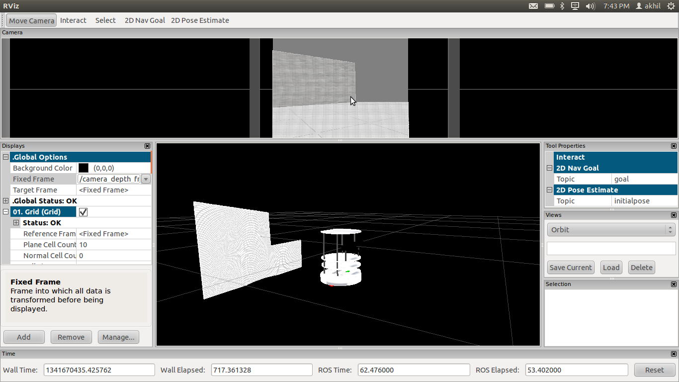 PointCloud 2 data in turtlebot simulation - ROS Answers: Open Source