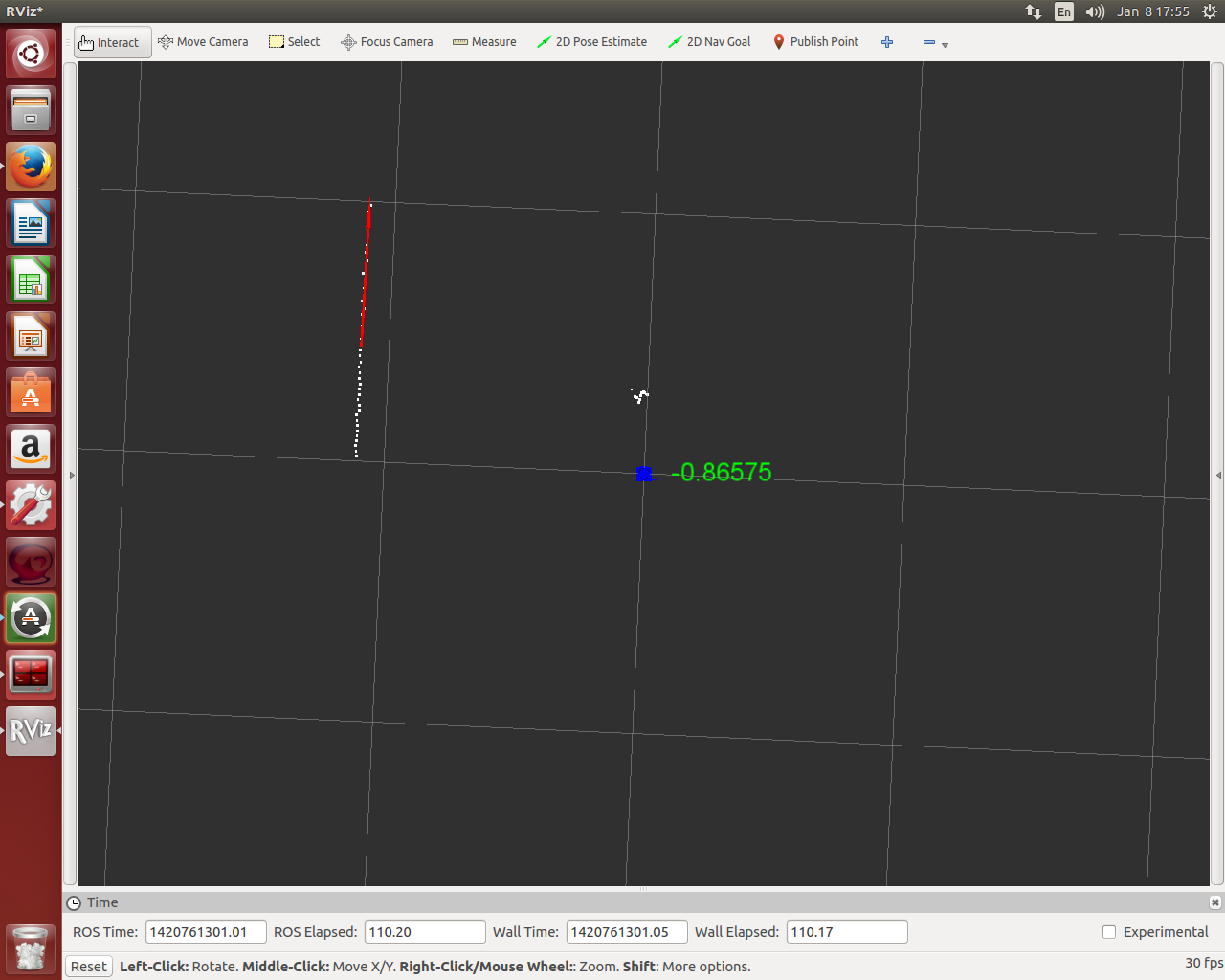 Fitting line to pointcloud data - ROS Answers: Open Source