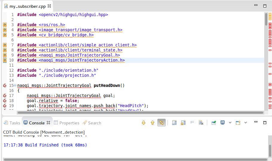 ROS Indigo in Eclipse Luna IDE problem - ROS Answers: Open