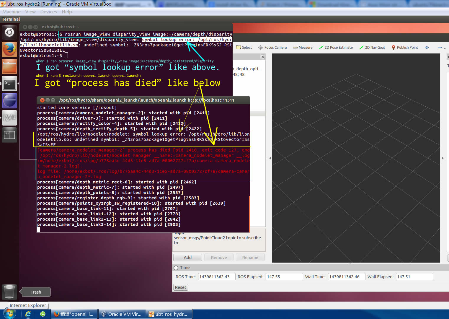 solved]cannot use kinect on Ubt12 04 in virtual box - ROS Answers