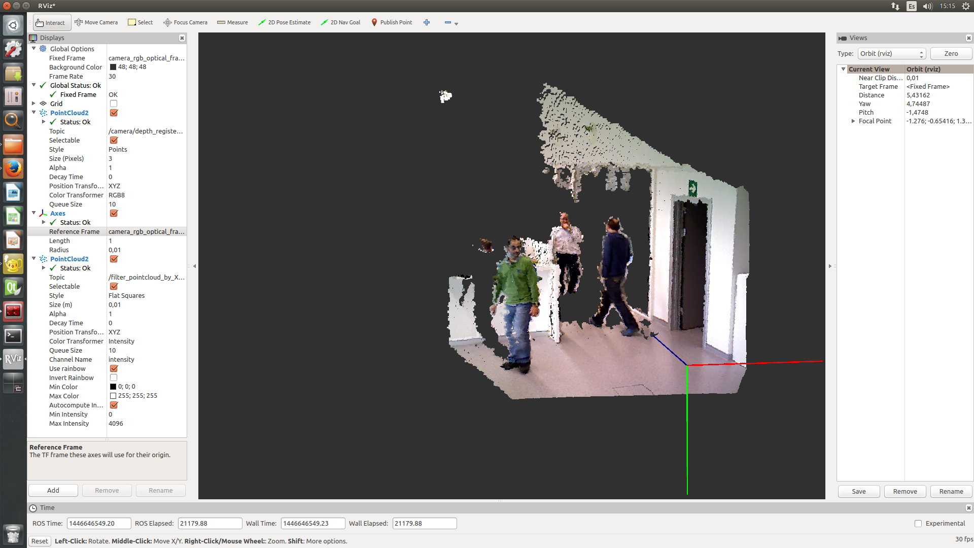 People detector in RGB-D pointclouds - ROS Answers: Open
