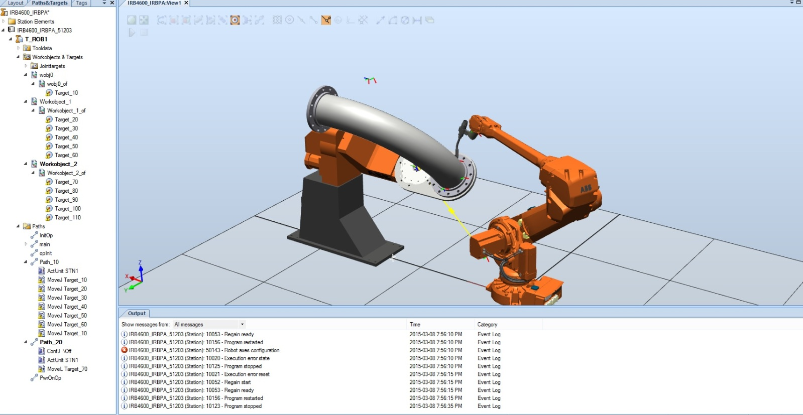 move_group with 2DOF workpiece positioner and 6DOF robot - ROS