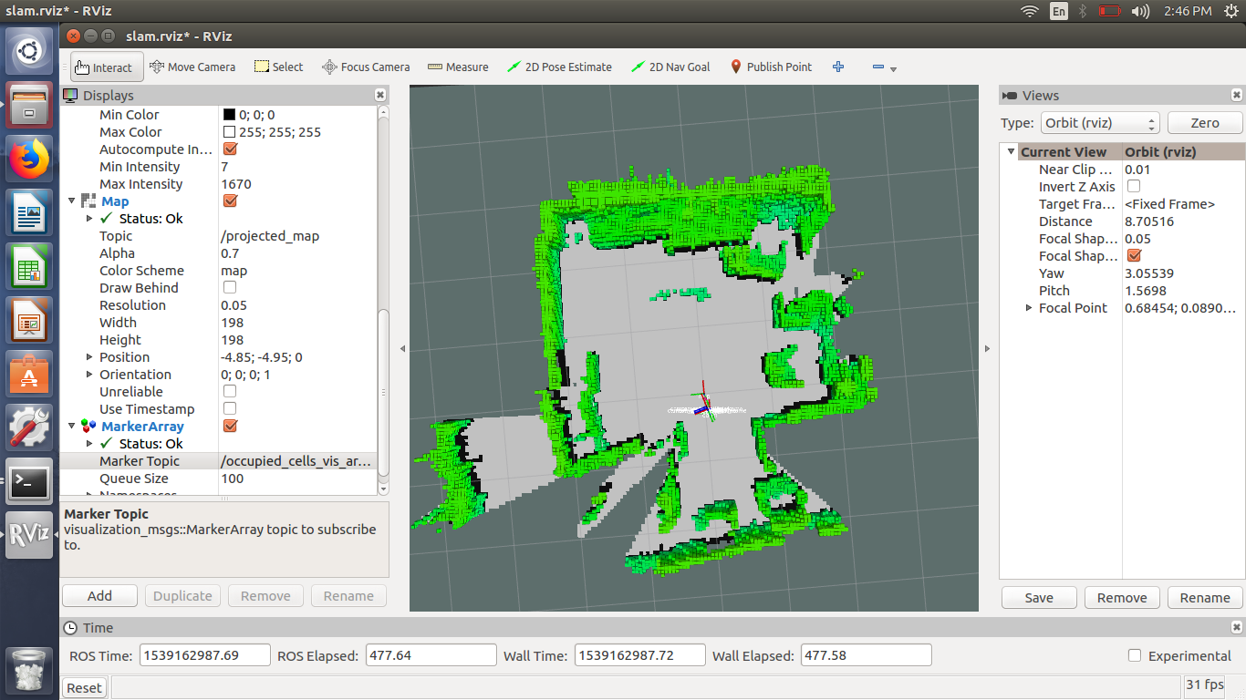 How to localize using 3D data projected on 2D map with kinect? - ROS