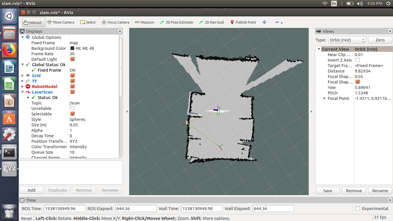 How to localize using 3D data projected on 2D map with