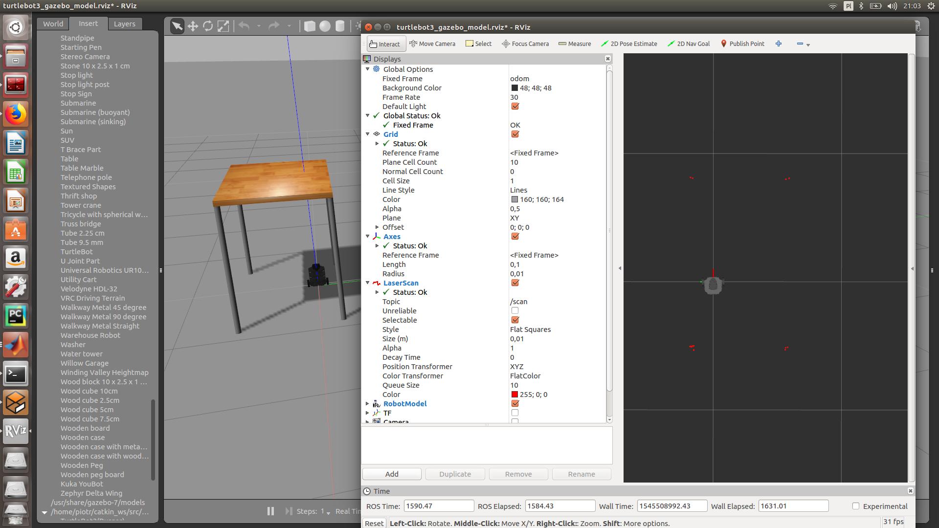 ROS & MatlabSimulink vs LIDAR - ROS Answers: Open Source Q&A